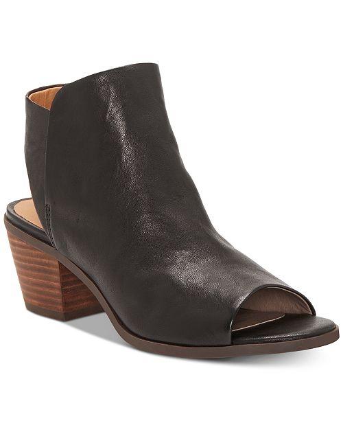 e9ac334c387 Lucky Brand Women s Baaka High-Heel Shooties   Reviews - Boots ...