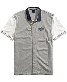 Tommy Hilfiger Adaptive Men's Carl Polo Shirt with Magnetic Buttons