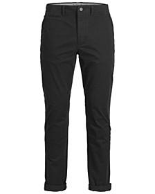 Men's Classic Black Chino Pants