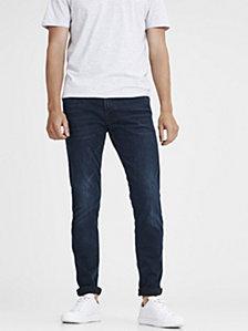 Jack & Jones Men's Super Stretch Slim Fit Black Jeans