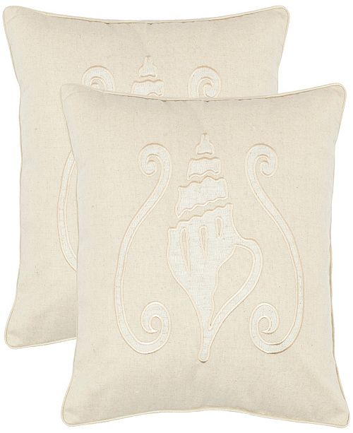 "Safavieh Paola 18"" x 18"" Pillow"