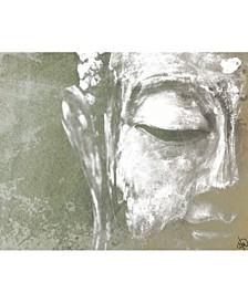"Painted Buddha Sage 20"" X 24"" Canvas Wall Art Print"