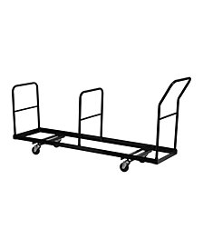 Offex Vertical Storage Folding Chair Dolly - 35 Chair Capacity