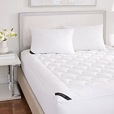 Royalty 233 Thread Count Cotton Top Allergen Barrier Mattress Pad - Twin XL