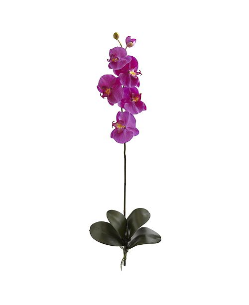 Nearly Natural 40-In. Large Orchid Phalaenopsis Artificial Flower, Set of 3