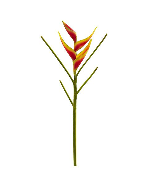 Nearly Natural 26-In. Heliconia Artificial Flower, Set of 4