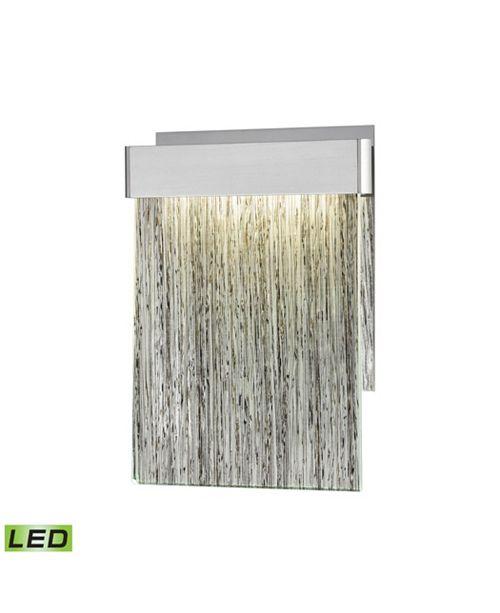 ELK Lighting Meadowland Wall Sconce Satin Aluminum/Polished Chrome