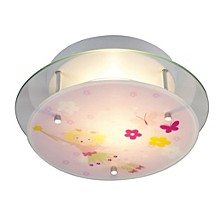 Novelty 2-Light Semi-Flush