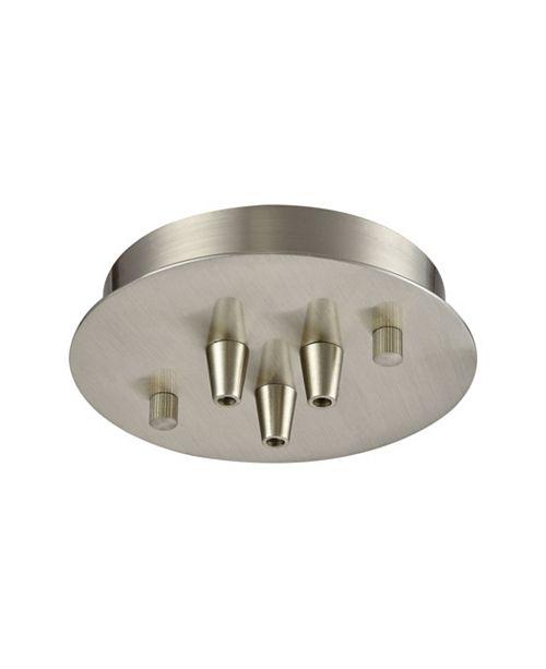 ELK Lighting Pendant Options 3 Light Small Round Canopy in Satin Nickel