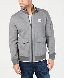 Calvin Klein Men's Tipped Knit Bomber Jacket