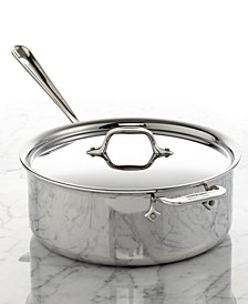 Stainless Steel 6 Qt. Covered Ultimate Deep Saute Pan