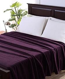 Blanket & Home Co.® Textured Braid VelvetLoft Twin Blanket