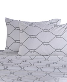 Blanket & Home Co.® Rope Printed Microfleece Sheet Set Collection