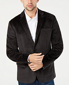 Kenneth Cole New York Men's Classic-Fit Knit Velvet Blazer
