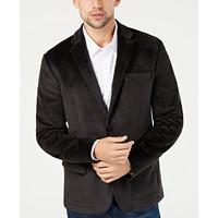 Kenneth Cole New York Men's Classic-Fit Knit Velvet Blazer