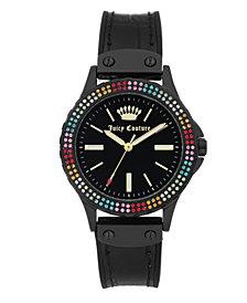 Woman's JC/1009MTBK Silicon Strap Watch