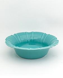 Chloe Turquoise Salad Bowl