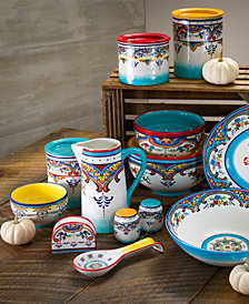 EuroCeramica Zanzibar Dinnerware Collection