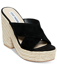 Steve Madden Women's Damsel Wedge Sandals