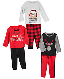 First Impressions Handsome Baby Holiday Mix & Match Separates, Created for Macy's