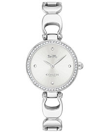 COACH Women's Park Stainless Steel Bracelet Watch 26mm