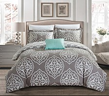 Murano 8 Pc Queen  Duvet Set