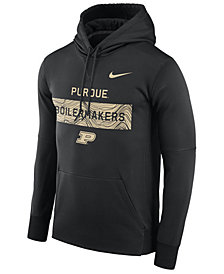 Nike Men's Purdue Boilermakers Staff Pullover Hooded Sweatshirt