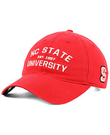 adidas North Carolina State Wolfpack Stadium Performance Wordmark Adjustable Strapback Cap