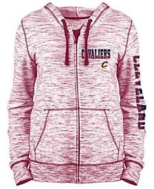 Women's Cleveland Cavaliers Space Dye Hoodie