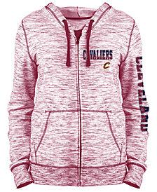 5th & Ocean Women's Cleveland Cavaliers Space Dye Hoodie