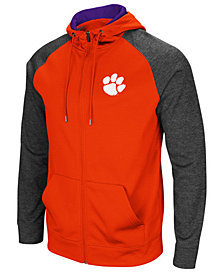Colosseum Men's Clemson Tigers Magic Rays Full-Zip Hooded Sweatshirt