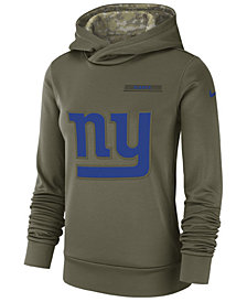 Nike Women's New York Giants Salute To Service Therma Hoodie