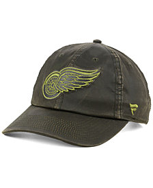 Authentic NHL Headwear Detroit Red Wings Fundamental Waxed Adjustable Cap