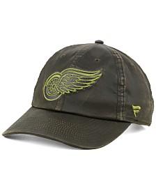 Authentic NHL Headwear Detroit Red Wings Fundamental Waxed Adjustable Cap