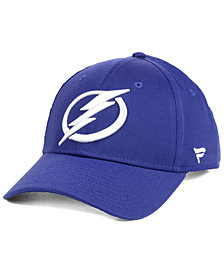 Authentic NHL Headwear Tampa Bay Lightning Fan Basic Adjustable Cap