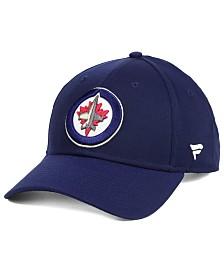 Authentic NHL Headwear Winnipeg Jets Fan Basic Adjustable Cap