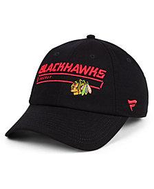 Authentic NHL Headwear Chicago Blackhawks Rinkside Fundamental Adjustable Cap