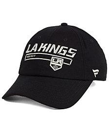 Authentic NHL Headwear Los Angeles Kings Rinkside Fundamental Adjustable Cap