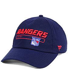 Authentic NHL Headwear New York Rangers Rinkside Fundamental Adjustable Cap