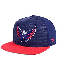 Authentic NHL Headwear Washington Capitals Rinkside Snapback Cap