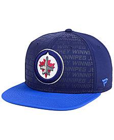 Authentic NHL Headwear Winnipeg Jets Rinkside Snapback Cap
