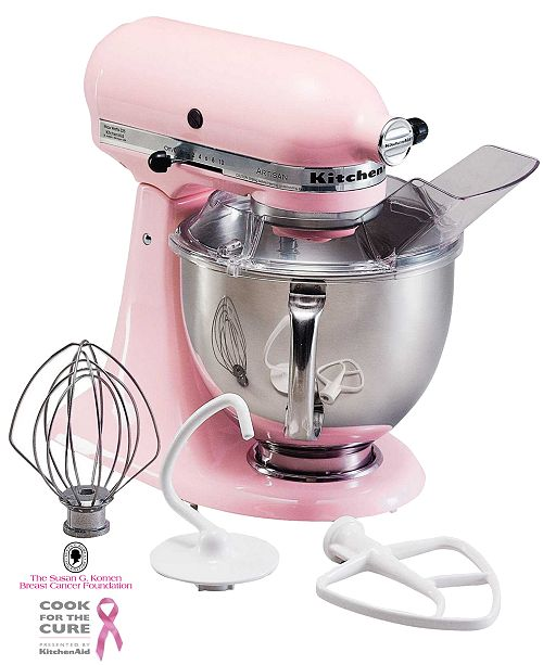 KitchenAid Cook for the Cure! KSM150PSPK Artisan 5 Qt. Stand Mixer