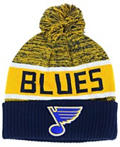 3e96c267 Authentic NHL Headwear St. Louis Blues Goalie Knit Hat