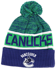 Authentic NHL Headwear Vancouver Canucks Goalie Knit Hat