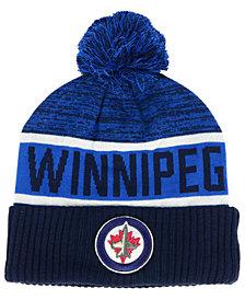 Authentic NHL Headwear Winnipeg Jets Goalie Knit Hat