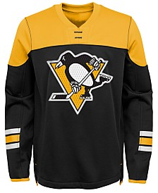 Outerstuff Pittsburgh Penguins Defenseman Fleece Sweatshirt, Big Boys (8-20)