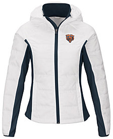 G-III Sports Women's Chicago Bears Defense Polyfill Jacket