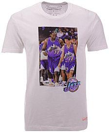 Mitchell & Ness Men's Utah Jazz Photo Real T-Shirt