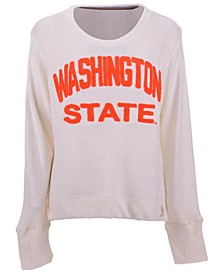 Women's Washington State Cougars Cuddle Knit Sweatshirt