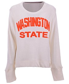 Pressbox Women's Washington State Cougars Cuddle Knit Sweatshirt